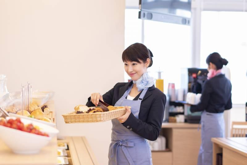 健康朝食(無料)会場イメージ