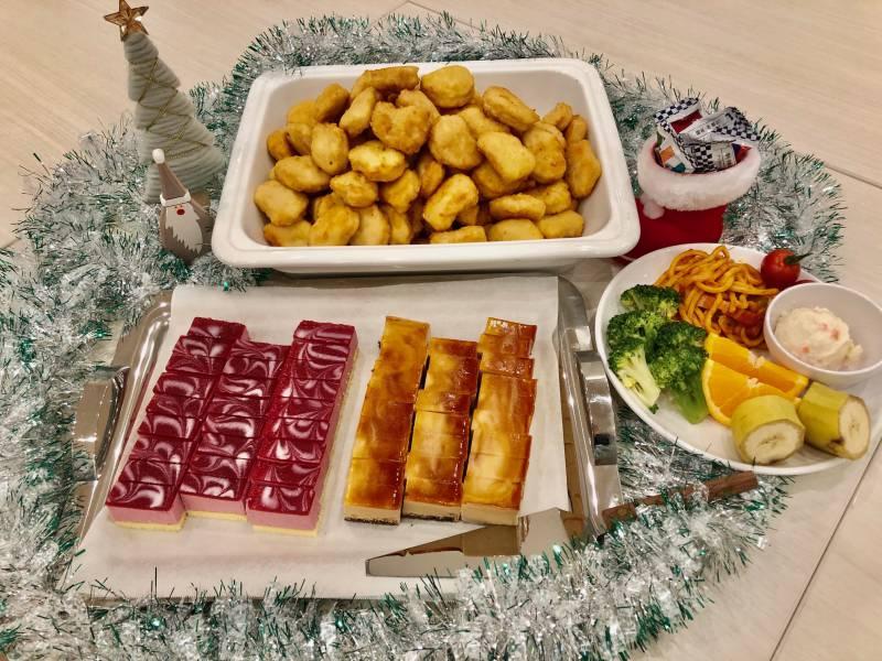 朝食クリスマスメニュー開始いたしました!