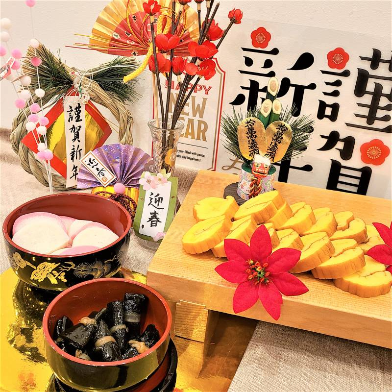 無料朝食「日替わりビュッフェ」に正月メニュー到来!🎍