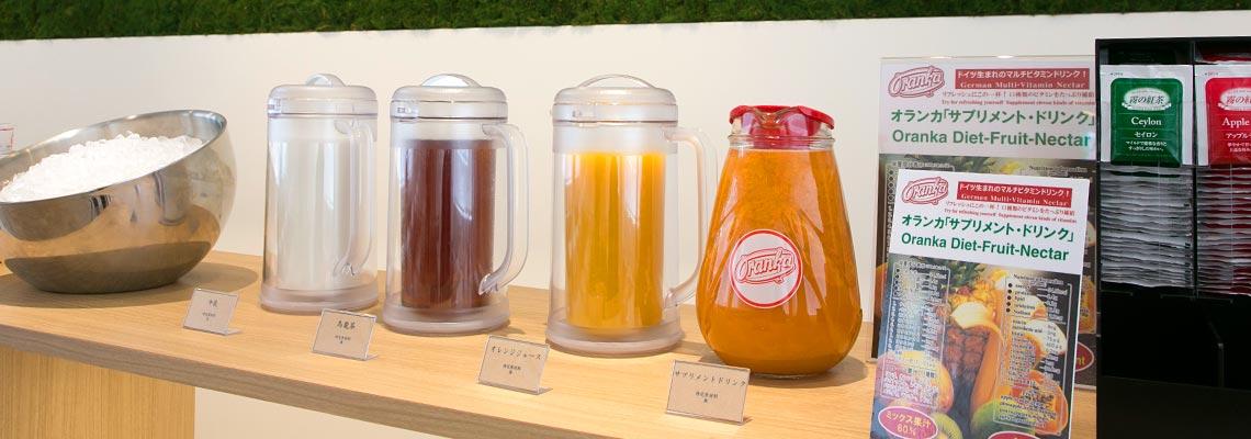 大人気のサプリメントドリンクからウーロン茶、牛乳等各種御座います。